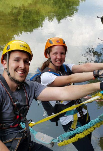 Zážitkové Via ferrata lezení s trenérem Bechyně