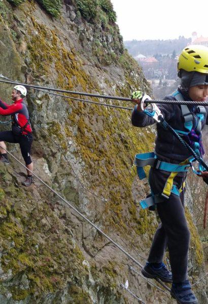 Privátní kurz Via ferrata lezení s teorií Slaný