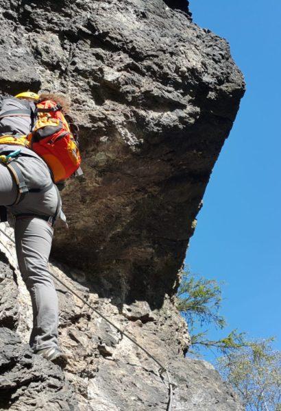 Kurz bezpečného Via ferrata lezení Vrabinec