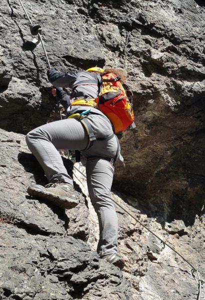 Privátní kurz bezpečného Via ferrata lezení Mírkov