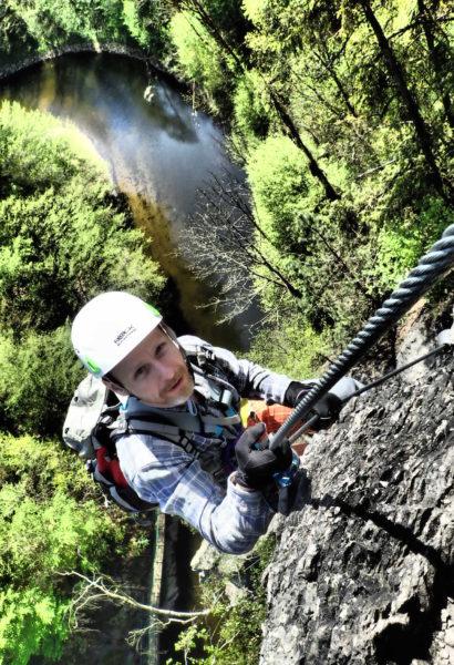 Via ferrata kurz s horským vůdcem: Vodní Brána Semily