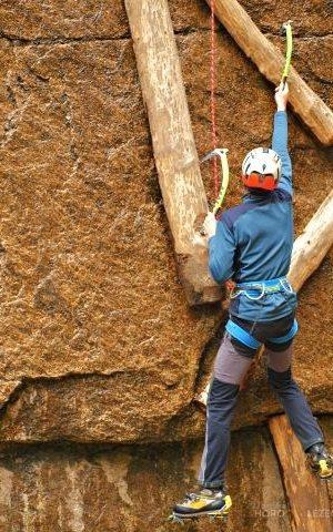 Základní kurz DRYTOOLING – lezení s cepíny na skále