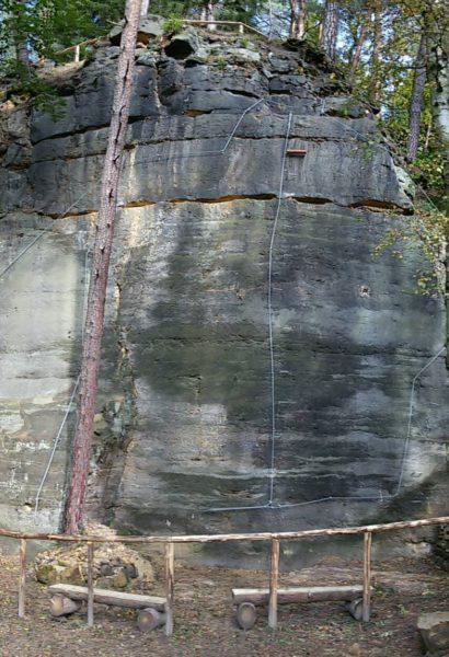 Privátní kurz bezpečného Via ferrata lezení Srbská Kamenice