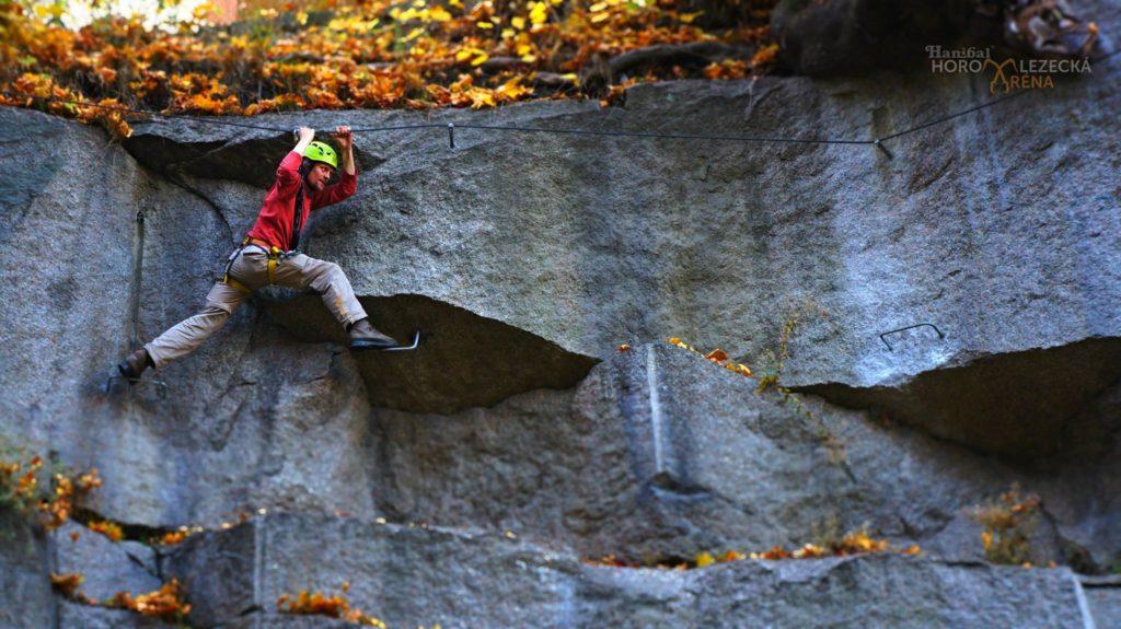 Via ferrata lezení s instruktorem Jizerské hory, Liberec