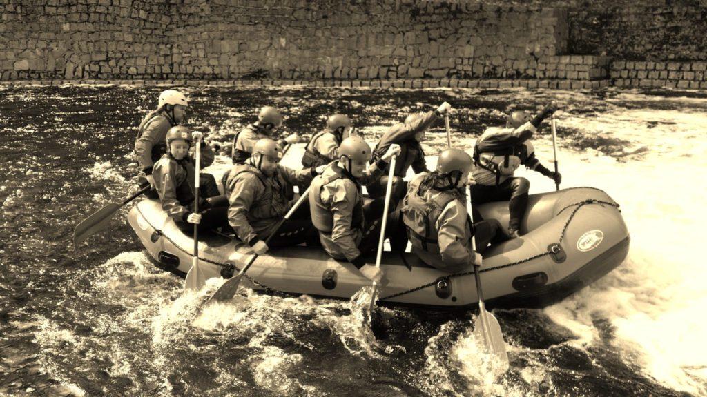 Rafting přírodní peřeje Jizery