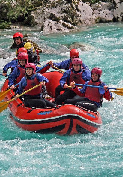 Celodenní rafting Soča – Slovinsko