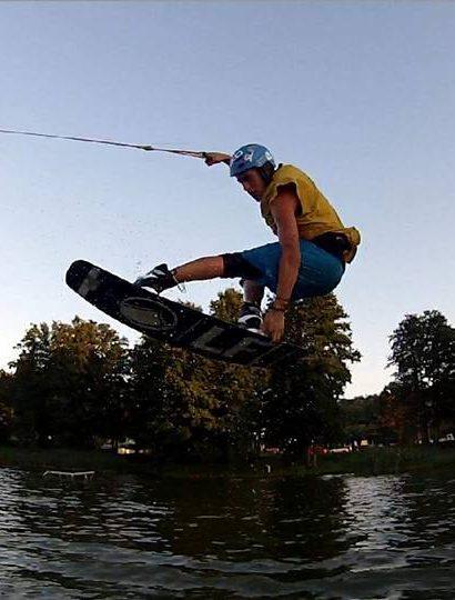 Kurz wakeboardu či vodního lyžování v Praze