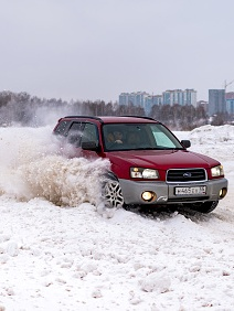 Kurz řízení na sněhu: Subaru, auto s pohonem všech kol
