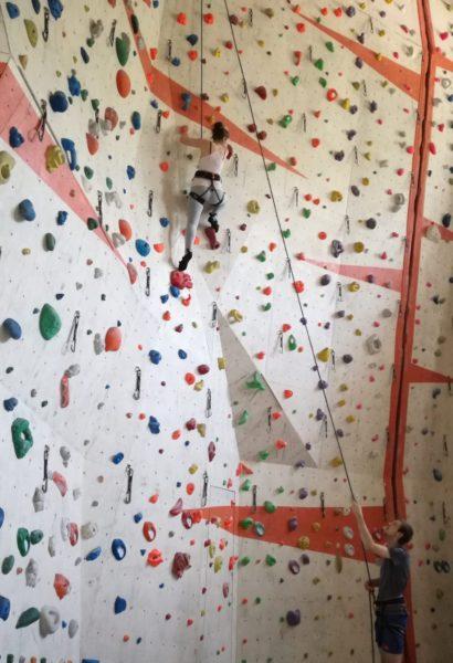 Kurz lezení uvnitř: umělá stěna Ústí nad Labem