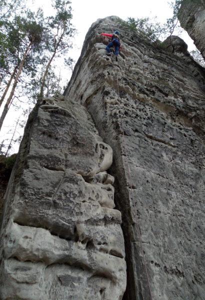 Kurz skalního lezení: Jizerské hory nebo Český ráj