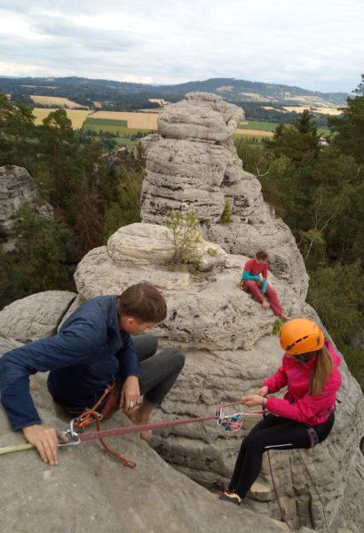 Workshop lezení na písku Český ráj