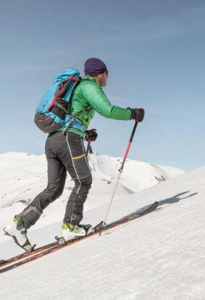 Skialpový den pro začátečníky s horským vůdcem: Krkonoše