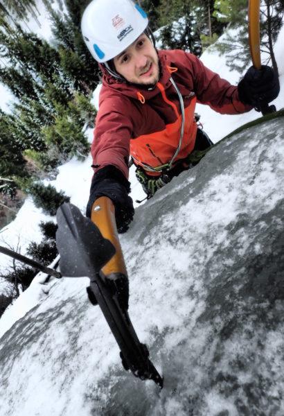 Kurz lezení přírodních ledů: Krkonoše
