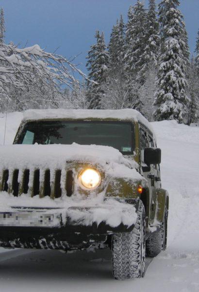 Kurz jízdy na sněhu, jízda v horském prostředí