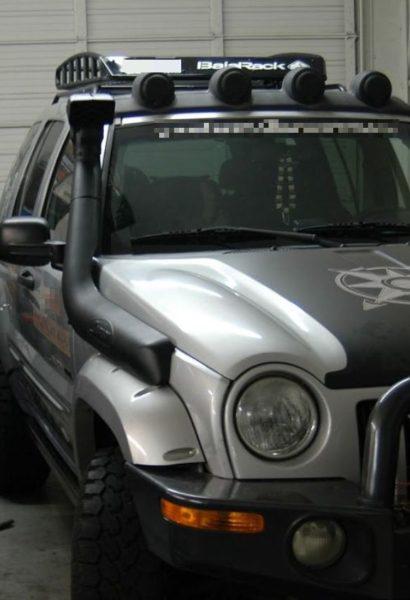 Offroad kurz v zapůjčeném voze Jeep