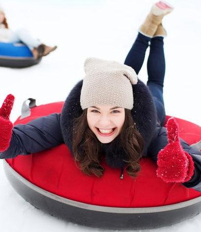 Zimní 4kolky a snow-tubing