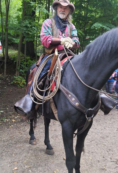 Privátní jízda na cowbojském koni Šumava