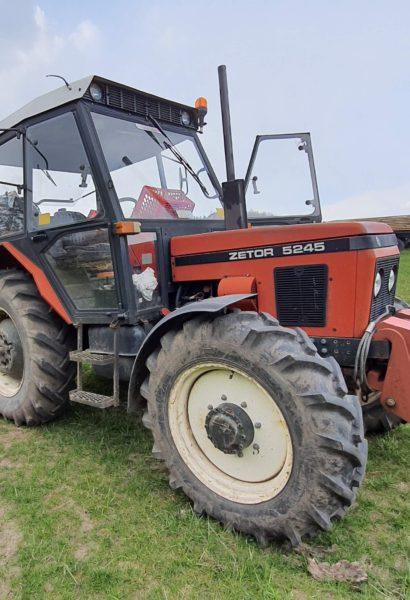 Zážitková jízda terénem traktor Zetor