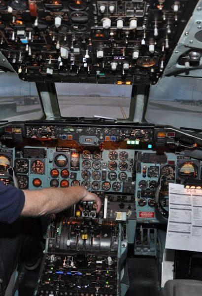 Letecký simulátor dopravního letadla