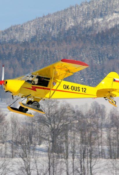 Kurz ultralehkého létání Krkonoše