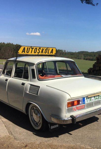 Zážitková jízda veteránem: Škoda 100