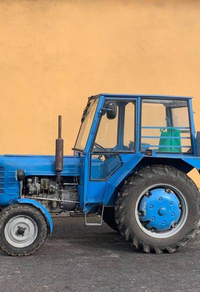Orba a jiné zemědělské práce traktorem ZETOR 3011