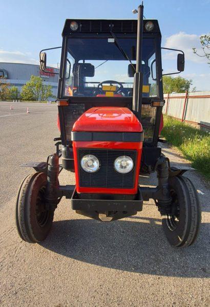 Povolání na zkoušku: traktorista