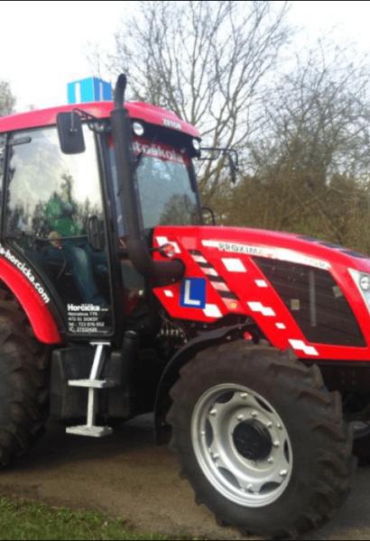 Jízda moderním traktorem ZETOR PROXIMA