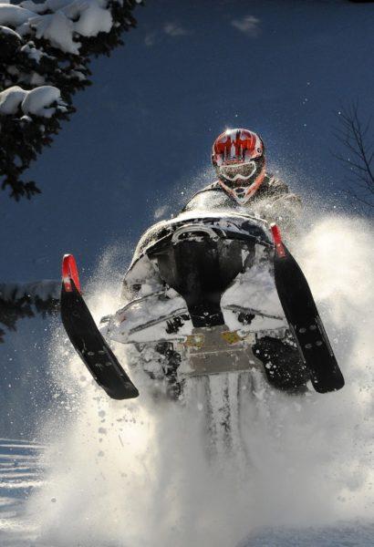 Adrenalin jízda na sněžném skútru: Krkonoše