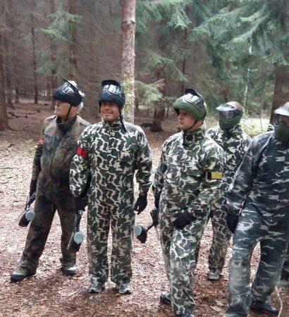 Painball v lese pro skupiny