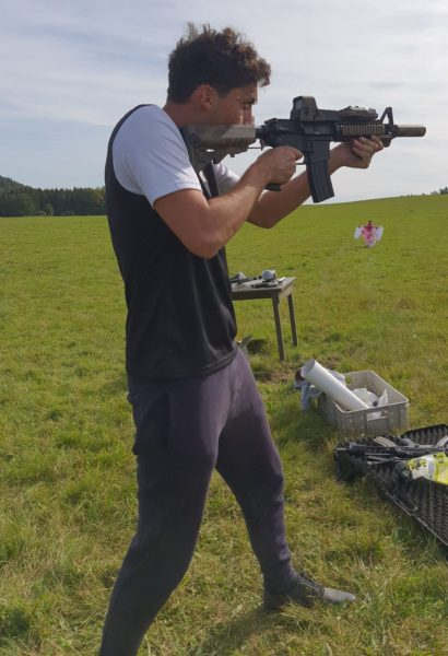 Zážitková outdoor střelnice: 5 druhů zbraní